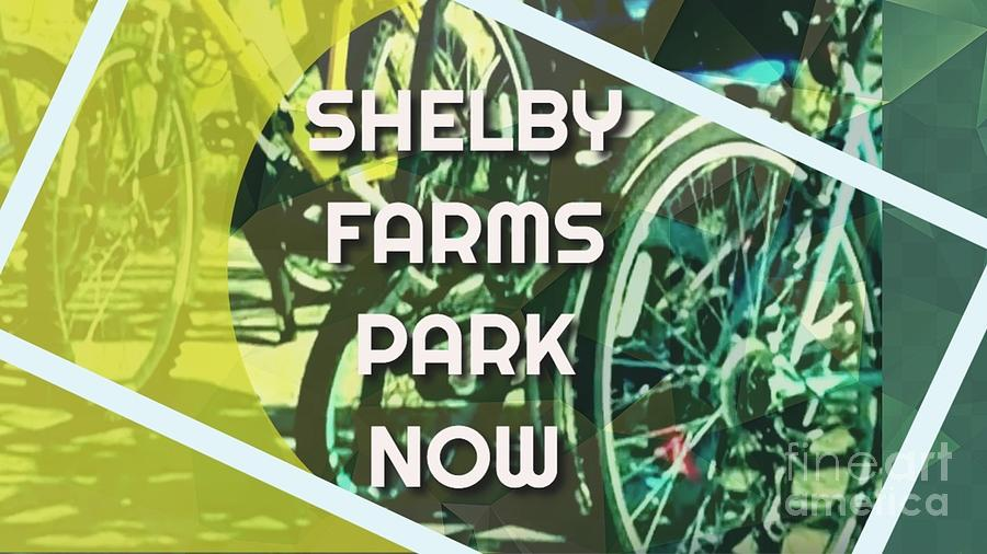 Shelby Farms Park Digital Art - Shelby Farms Park Now by Karen Francis