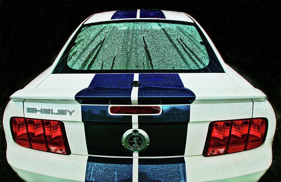 Shelby GT500 in the rain by Bill Jonscher