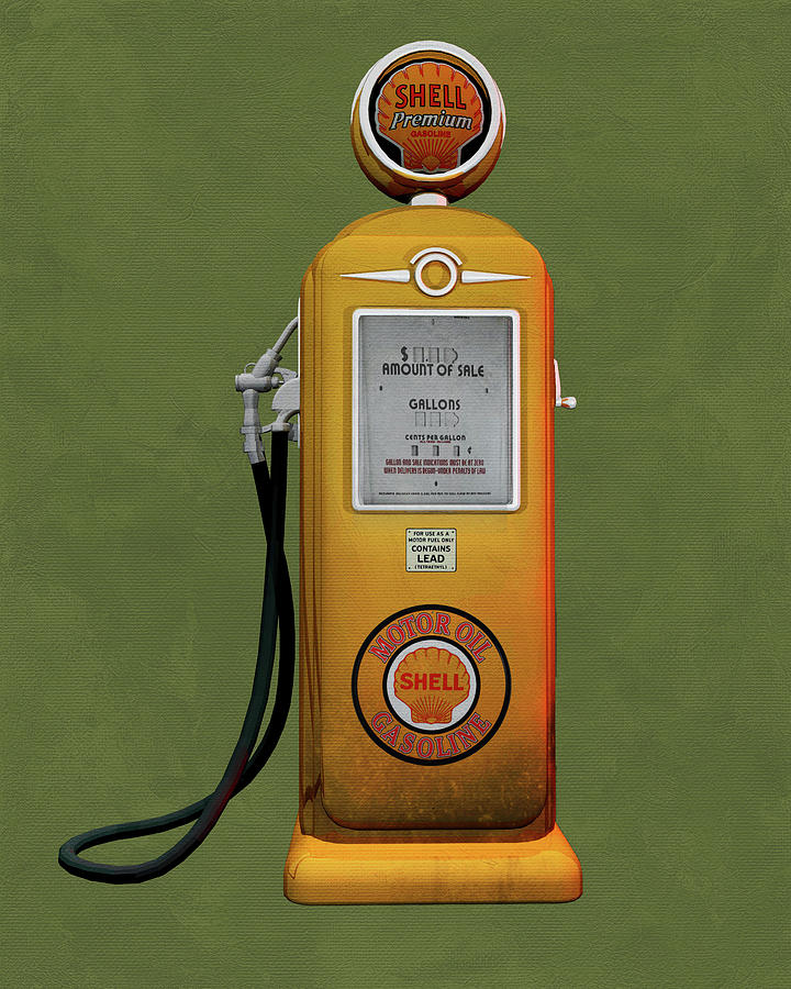 Shell Gas by Jan Keteleer