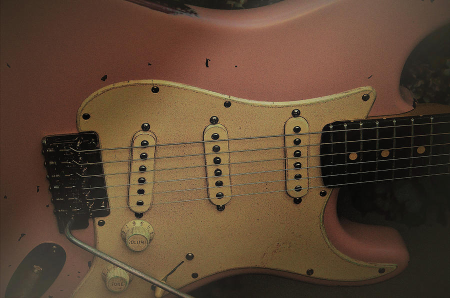 Shelly Pink Guitar by Guitar Wacky