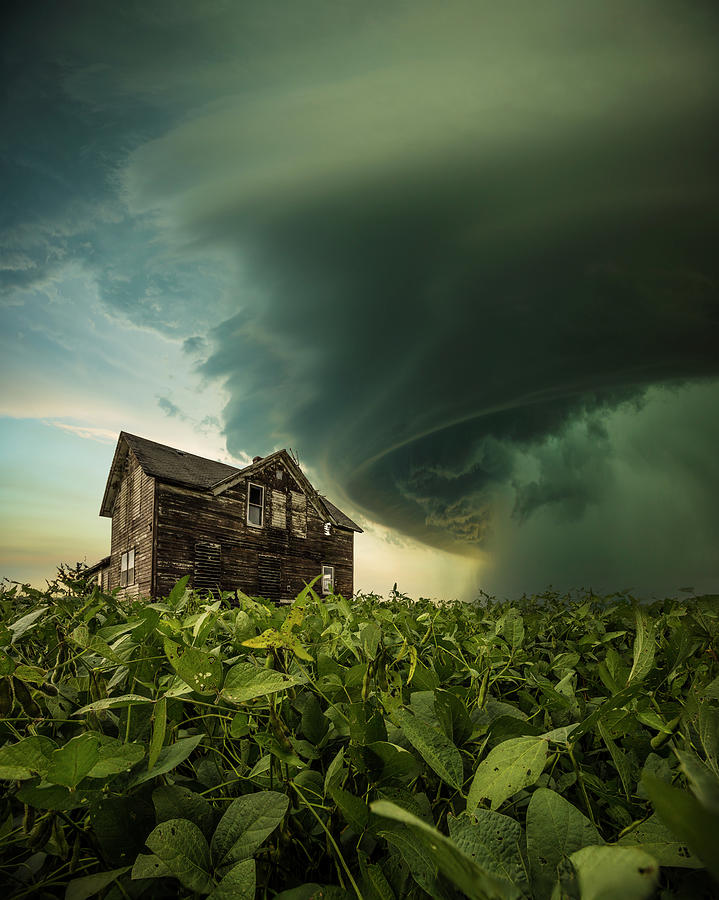 Mesocyclone Photograph - Shelter From The Storm by Aaron J Groen