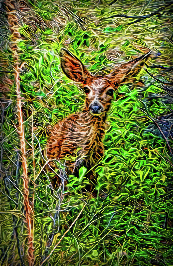 Sheltered In The Woods by Joel Bruce Wallach