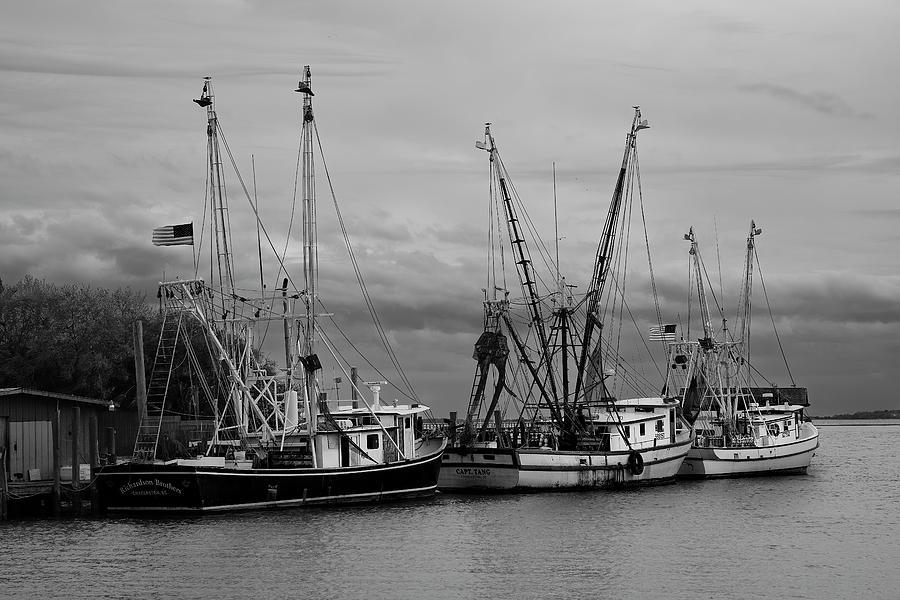 Shem Creek Boats II by Jon Glaser