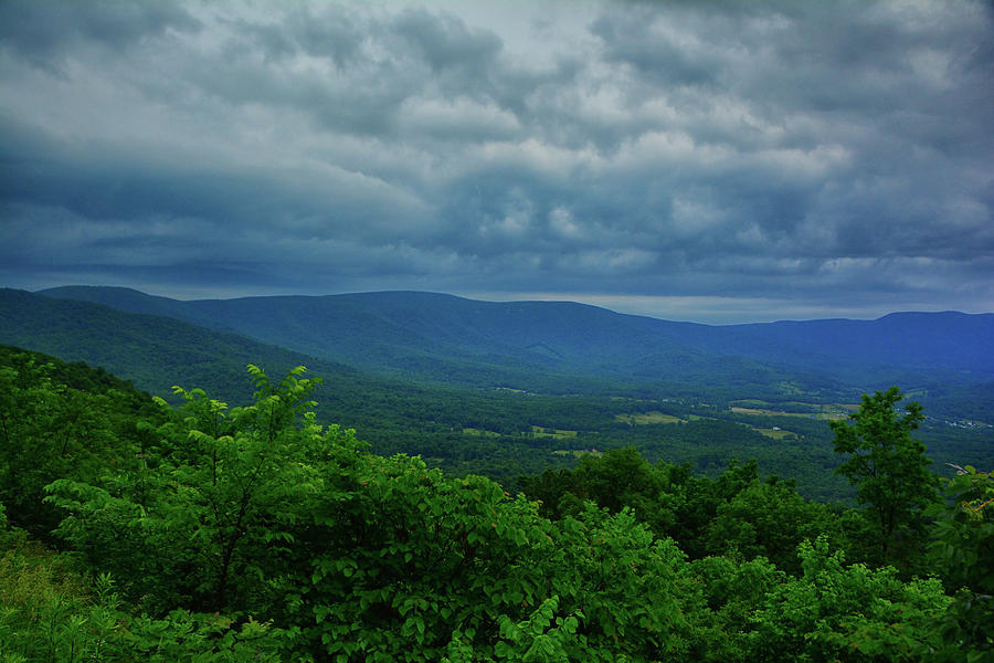 Shenandoah Central District as a Storm Arrives by Raymond Salani III