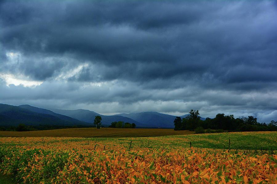 Shenandoah Mountains and a Storm by Raymond Salani III