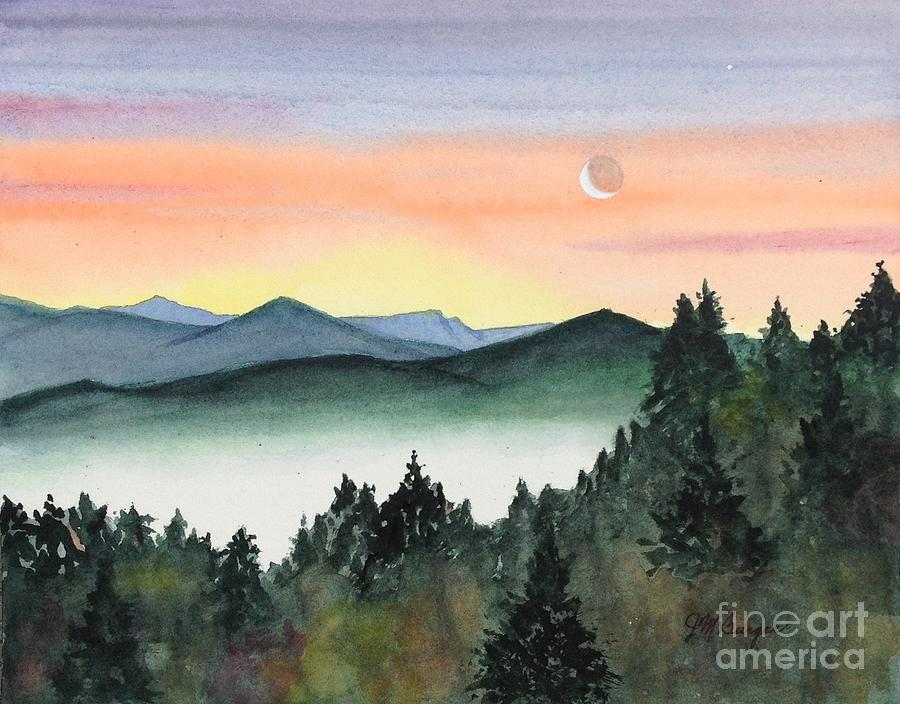 Shenandoah Sunset by Joseph Burger