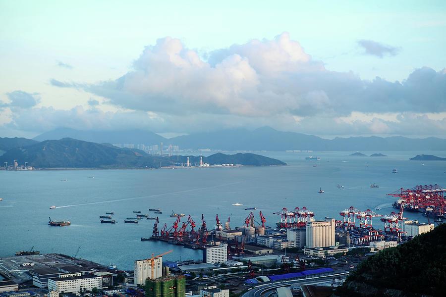 Shenzhen Bay And Shekou Port Photograph by Wilson.lau