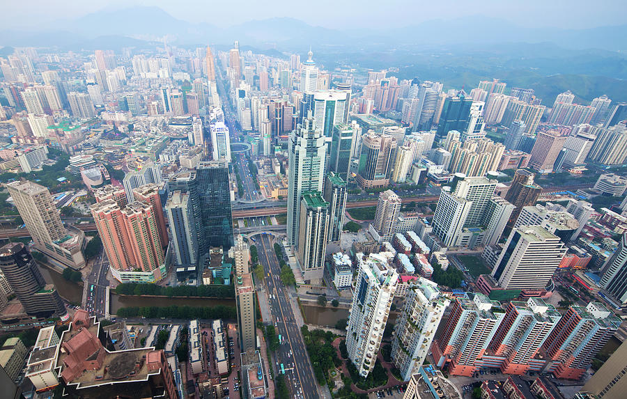 Shenzhen, China Photograph by Nikada