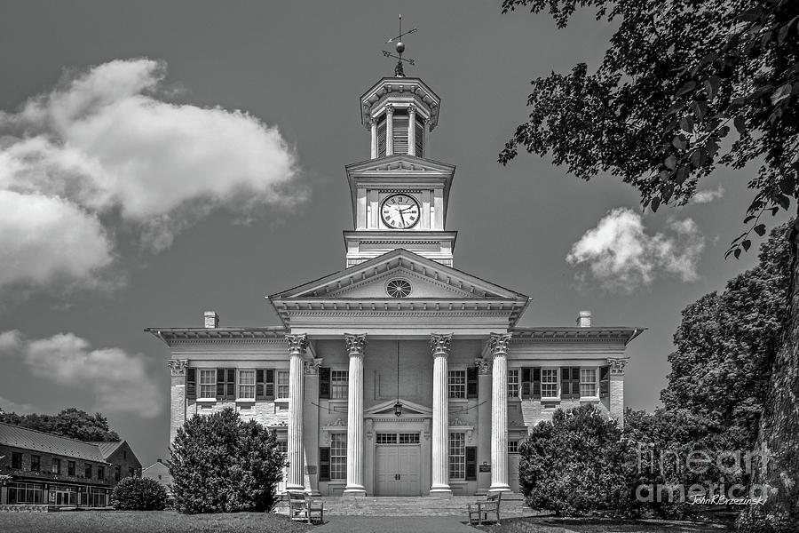 Shepherd University Photograph - Shepherd University Mc Murran Hall by University Icons