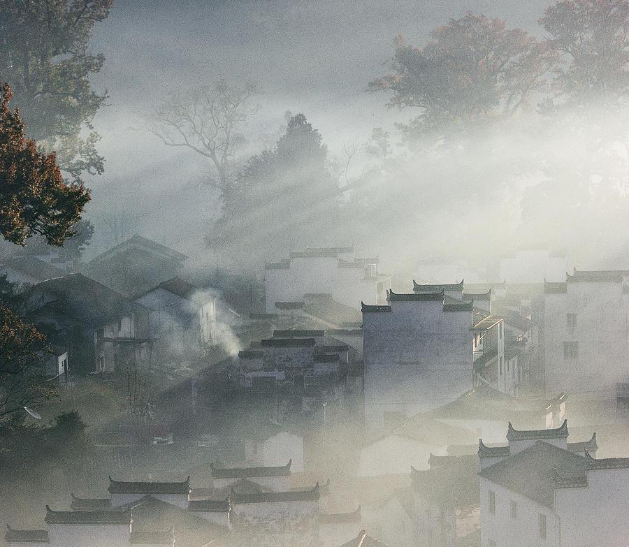 Memory Photograph - Shicheng Dawn by Robot Boy Zxz