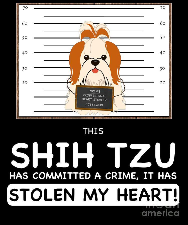 Shih Tzu Mug Shot Tote