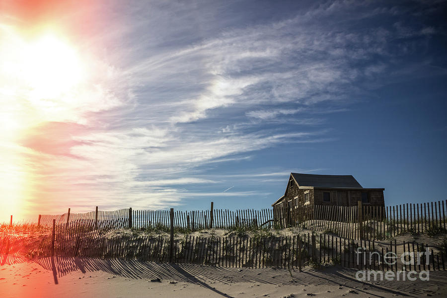 Shack Photograph - Shine On by Colleen Kammerer