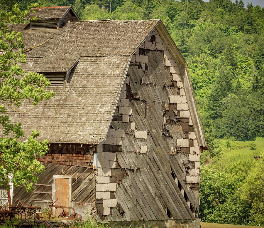 Shingled Barn by Jean Noren