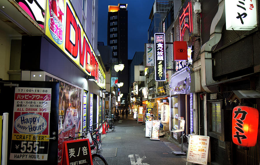 Shinjuku Alley - Tokyo by Nathan Rupert