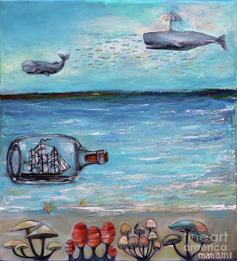 Ship in a Bottle by Manami Lingerfelt