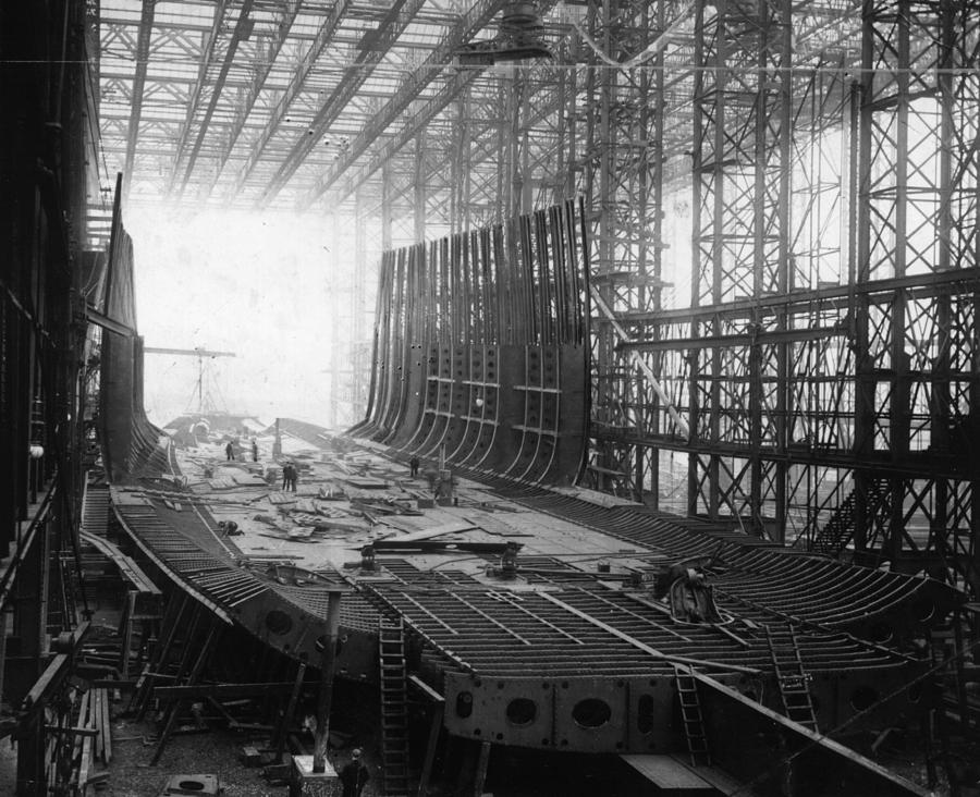 Shipbuilding Photograph by General Photographic Agency