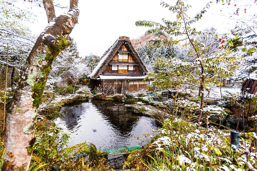 Gifu Photograph - Shirakawa The Shirakawa-go And by Titipongpwl