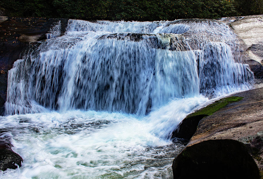 Waterfall Photograph - Shoal Creek Waterfall by Joseph C Hinson