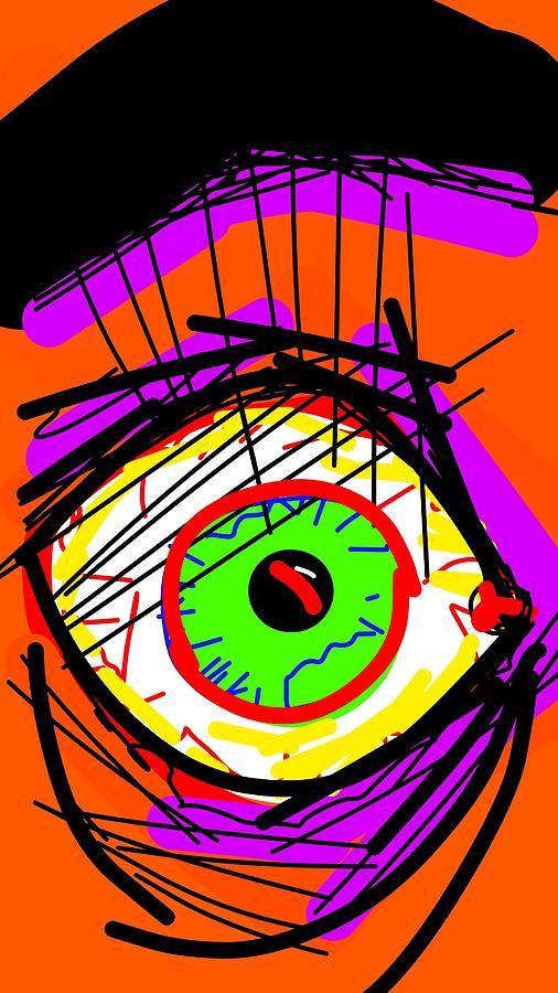 Shock Digital Art by Madeline Dillner