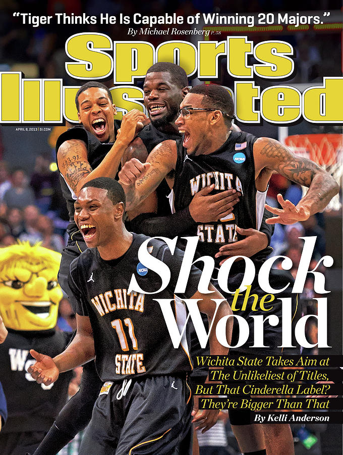 Shock The World Wichita State Takes Aim At The Unlikeliest Sports Illustrated Cover Photograph by Sports Illustrated