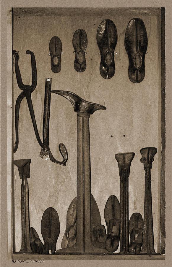Shoemakers Tools by Kae Cheatham