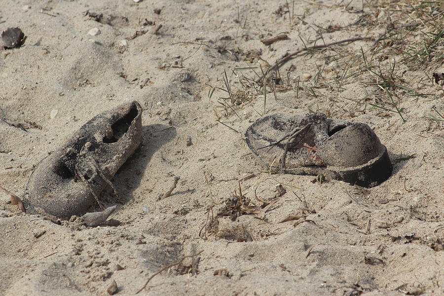 Shoes in the Sand by Callen Harty