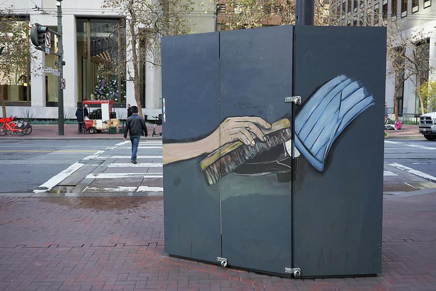 Shoeshine Mural by Erik Burg