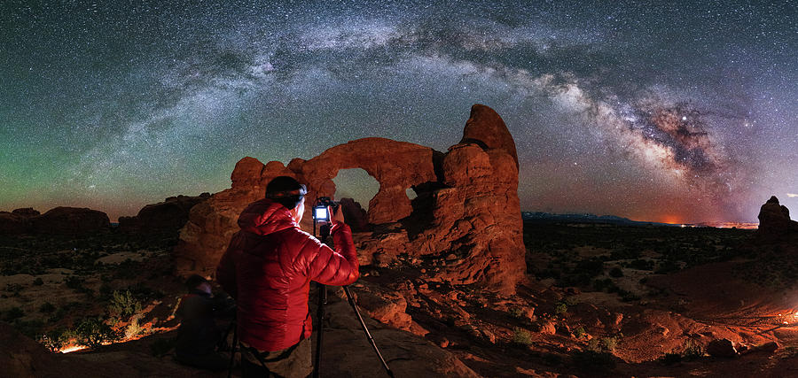 Shooting The Celestial Turret Photograph