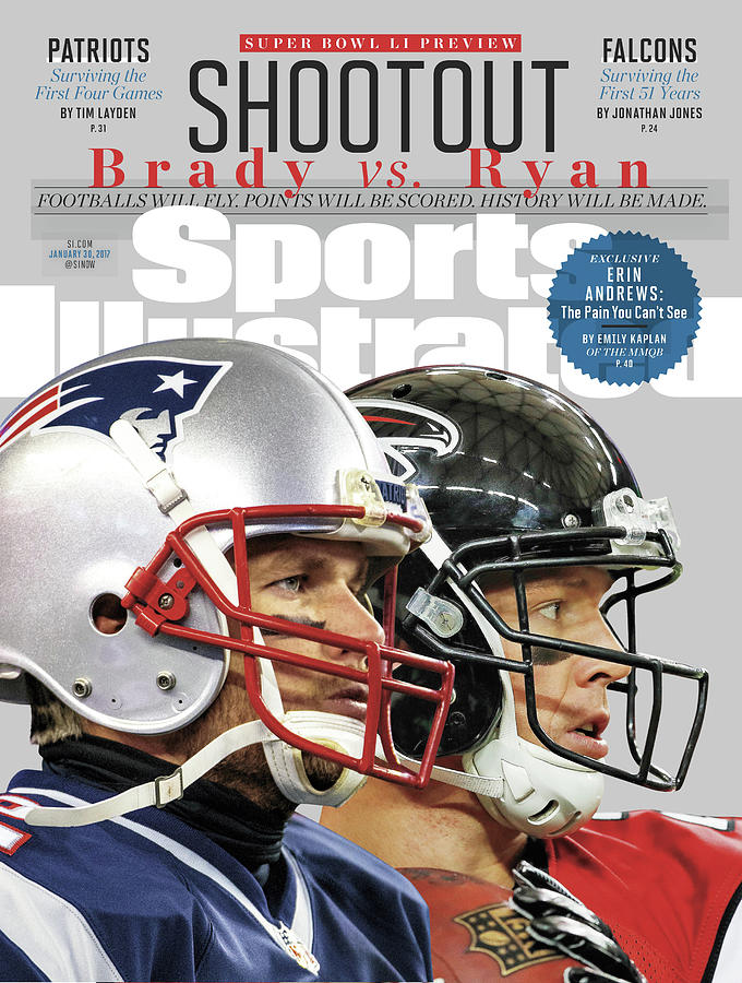 Shootout Super Bowl Li Preview Sports Illustrated Cover Photograph by Sports Illustrated