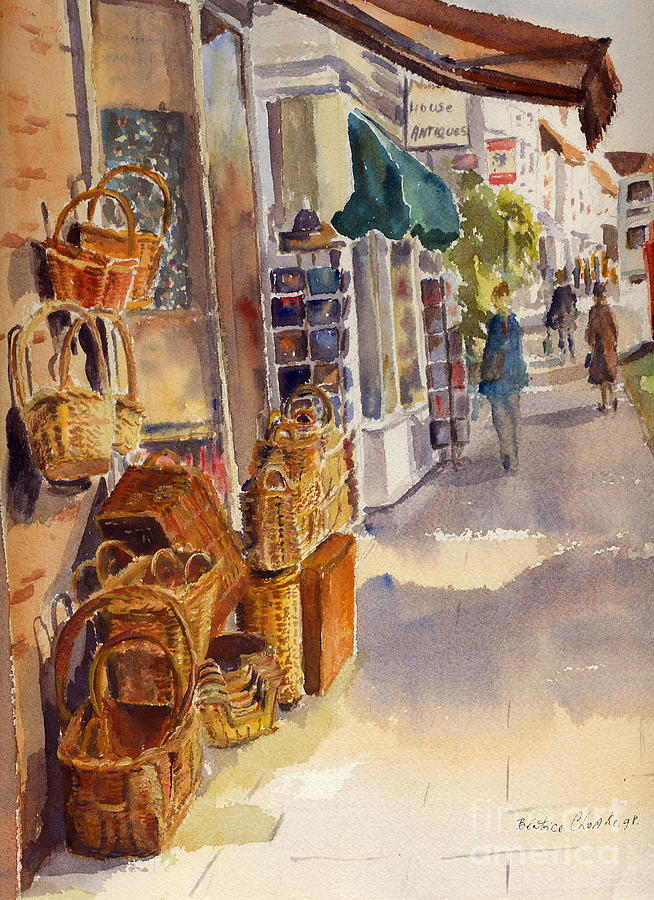 Shopping in Tenterden England by Beatrice Cloake