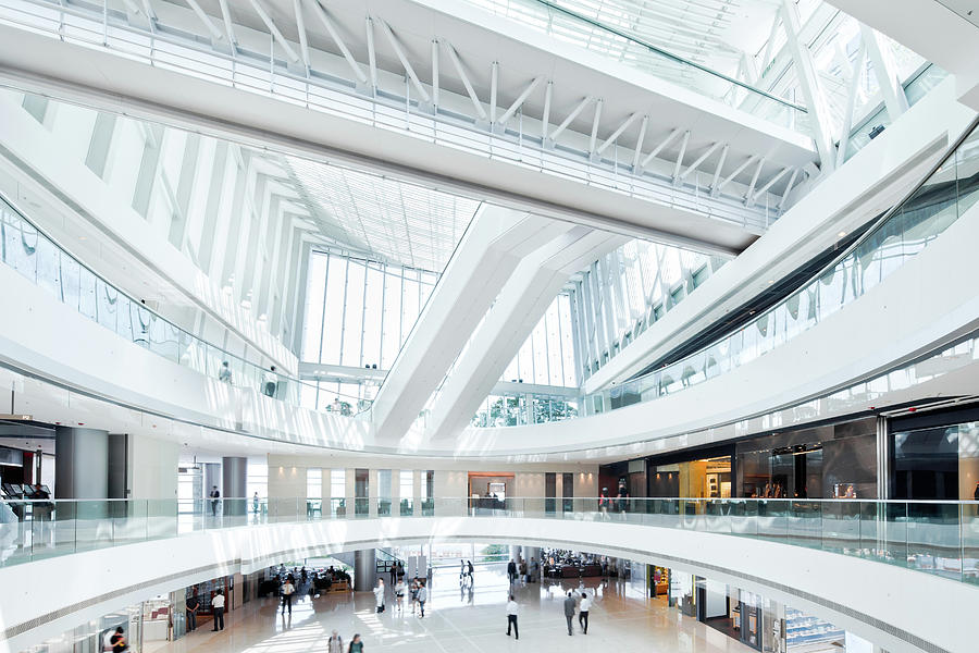 Shopping Mall Photograph by Tomml