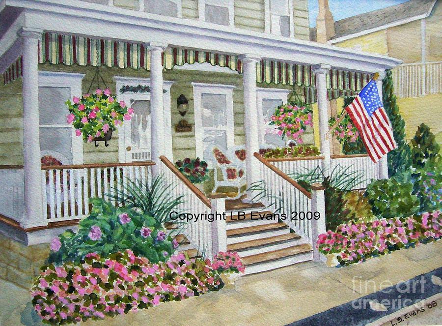 Shore House by Lynda Evans