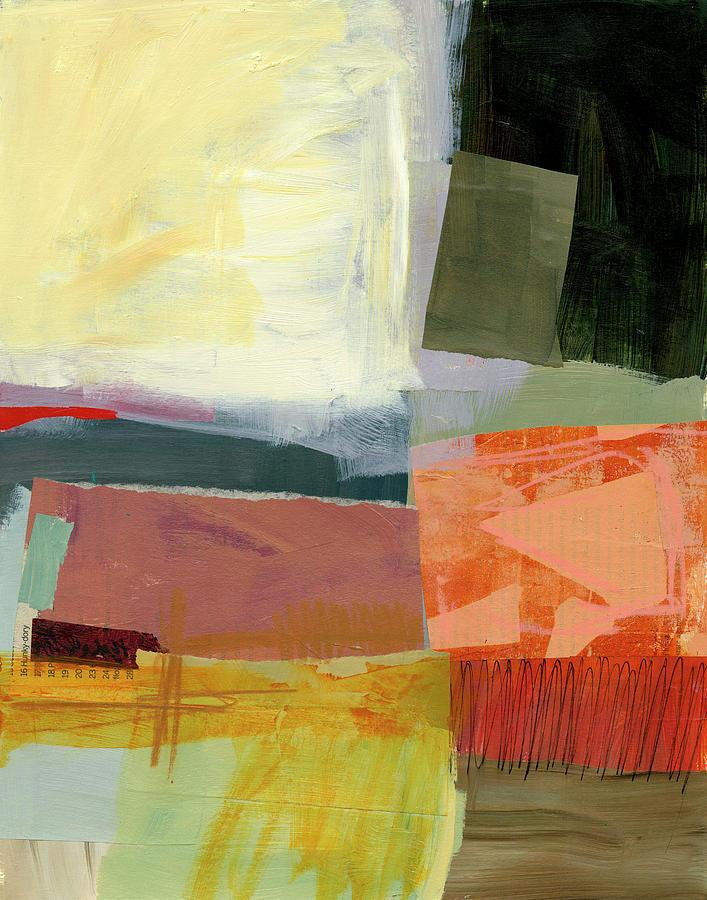 Pattern Painting - Shoreline #4 by Jane Davies