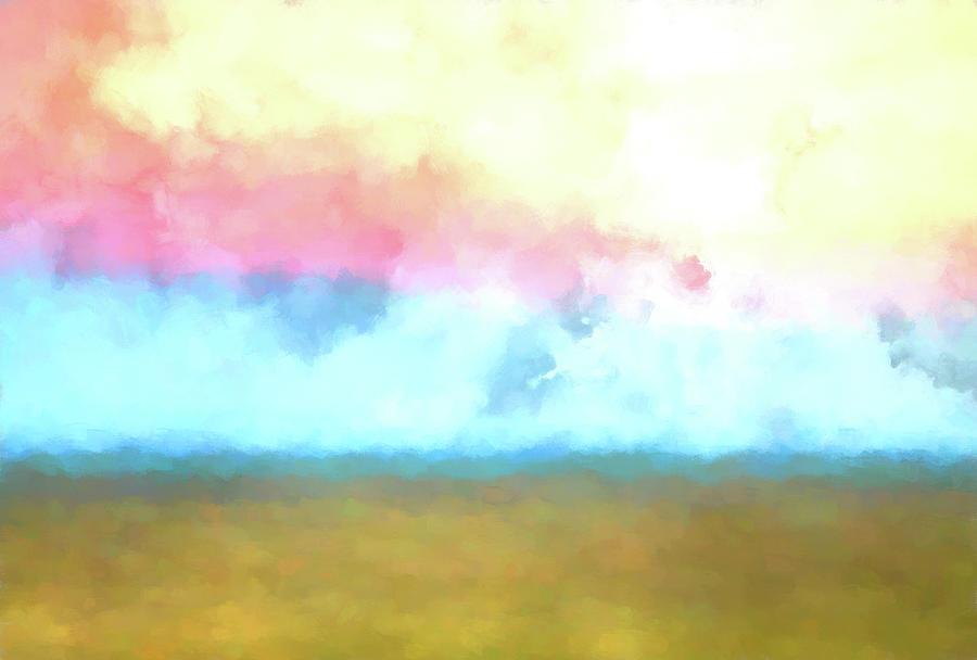 Short Grass Prairie Sunrise by Gordon Ripley