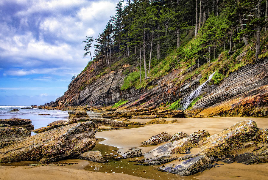 Short Sands Beach by Carolyn Derstine