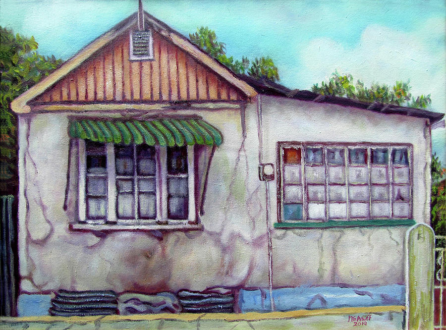 Jamaica Painting - Shortwood House by Ewan McAnuff