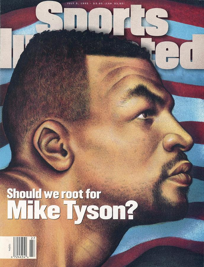 Should We Root For Mike Tyson Sports Illustrated Cover Photograph by Sports Illustrated