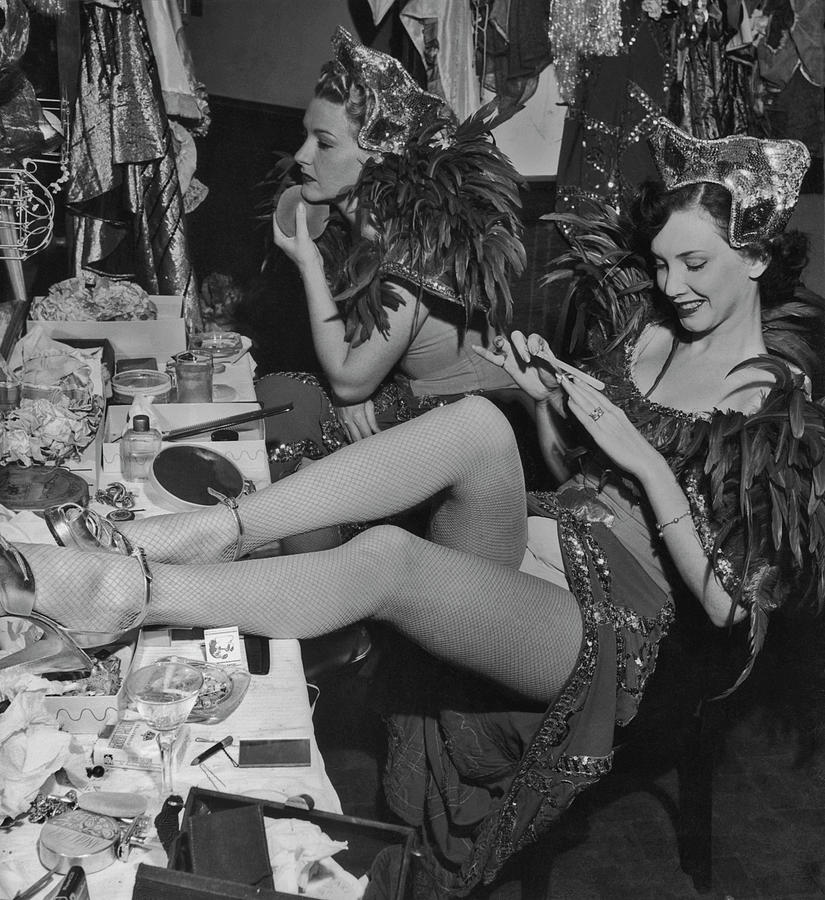Showgirls Backstage Photograph by Graphic House