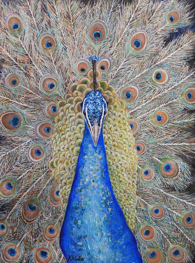 Showy Display by Kathy Gales