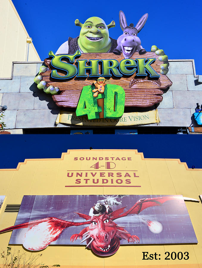 Shrek 4 D Poster A Photograph By David Lee Thompson