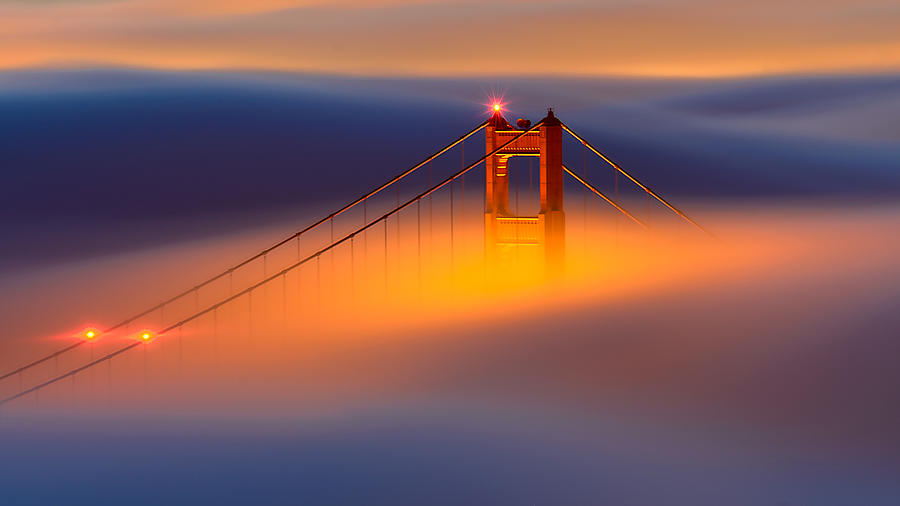 San Photograph - Shrouded by Andy Wu