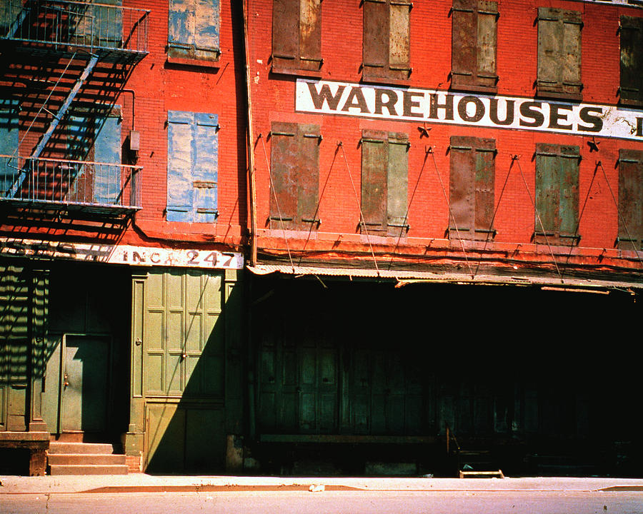 Shuttered Warehouse On The Lower East Photograph by Walker Evans