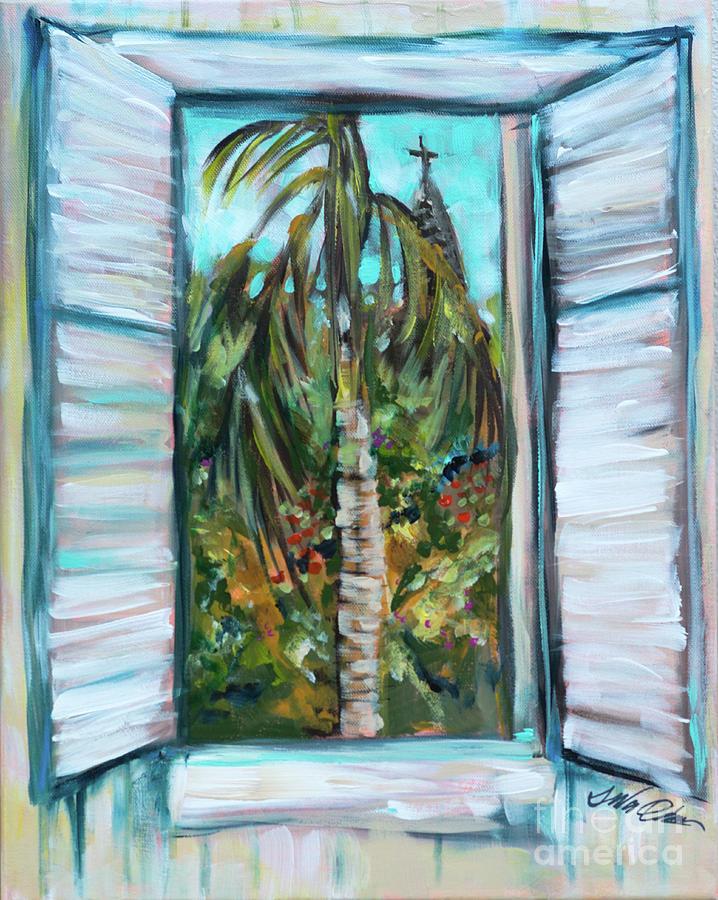 Shutters at Roseys by Linda Olsen