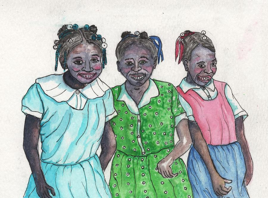 Shy Girls From South Alabama by Philip Bracco