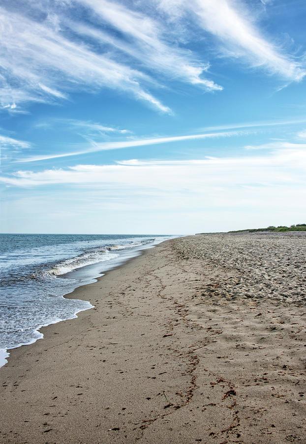 Siasconset Photograph - Siasconset Beach - Nantucket Massachusetts  by Brendan Reals