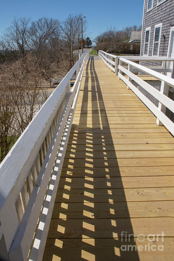 Siasconset walkway by Ruth H Curtis
