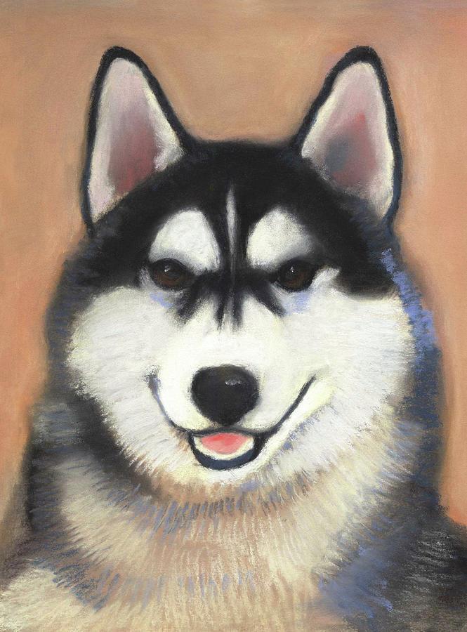 Siberian Husky by Linda Ruiz-Lozito