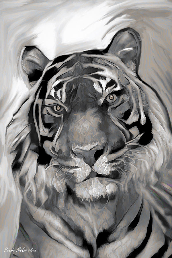 Siberian Tiger by Pennie McCracken