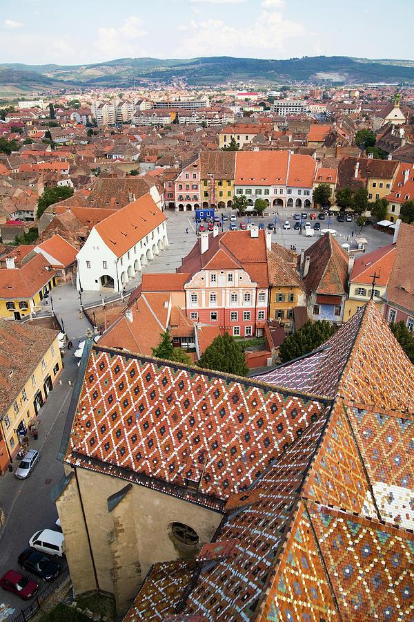 Sibiu - Hermannstadt, Romania Photograph by Mitshu