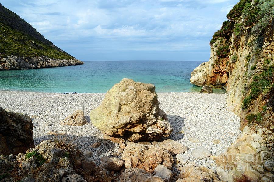 Sicilian Sea Sound of Zingaro by SILVA WISCHEROPP